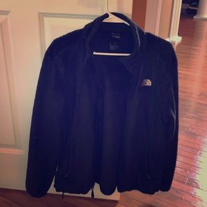 Gently worn north face fleece women's large